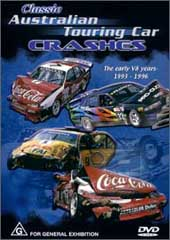 Classic Australian Touring Car Crashes on DVD