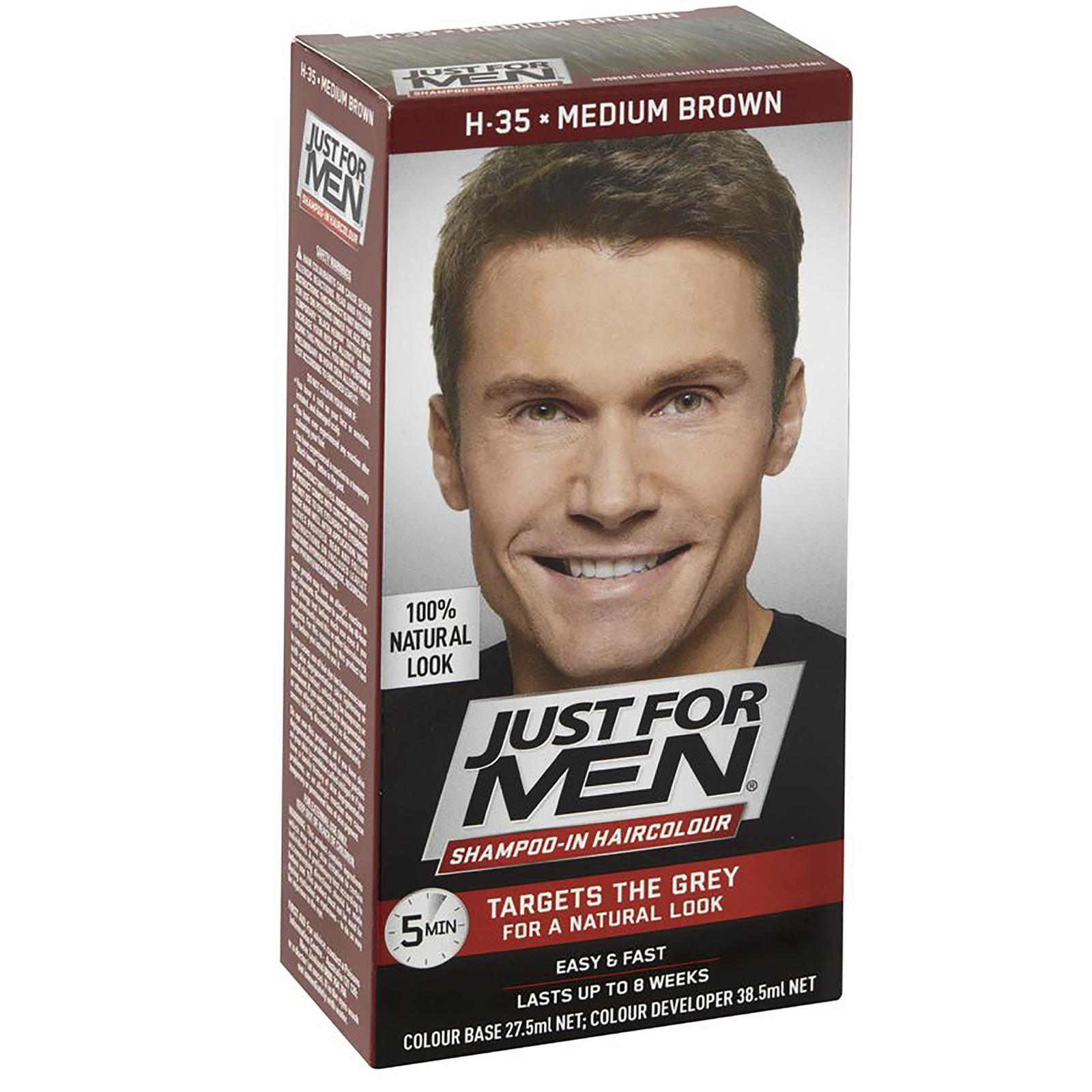 Just For Men Shampoo-In Hair Colour - Medium Brown image