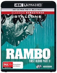 Rambo: First Blood Part II on UHD Blu-ray