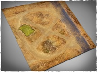 Deep Cut Studio: Gaslands Neoprene Mat (4x4)