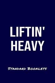 Liftin Heavy Standard Booklets by Standard Booklets image