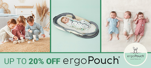 ergo Pouch-Up to 20% off