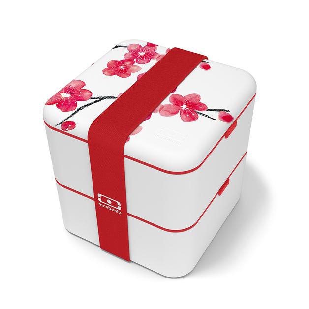 Monbento: Square Graphic Lunch Box (Blossom)