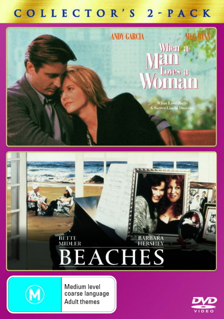 When A Man Loves A Woman / Beaches - Collector's 2-Pack (2 Disc Set) on DVD