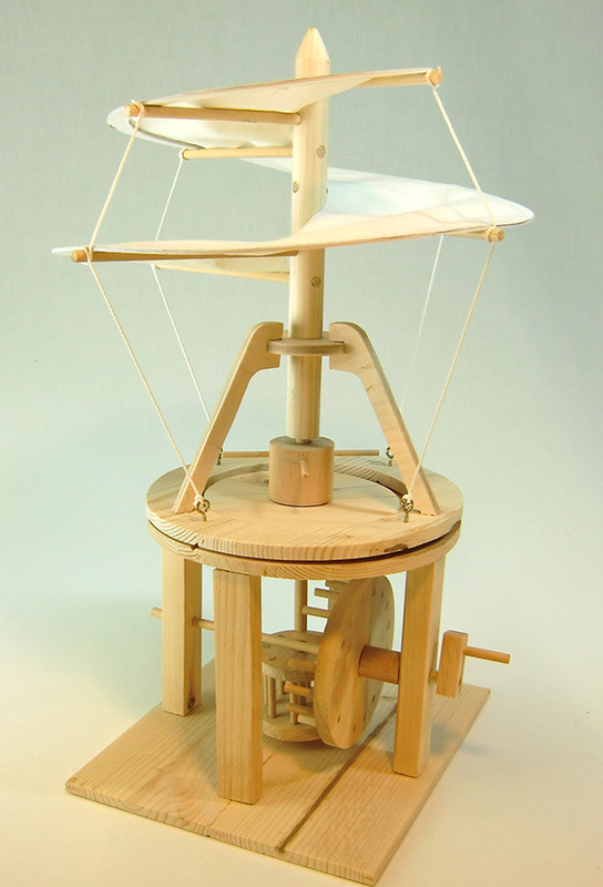 Pathfinders - Da Vinci Helicopter Kit