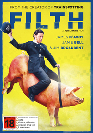Filth on DVD