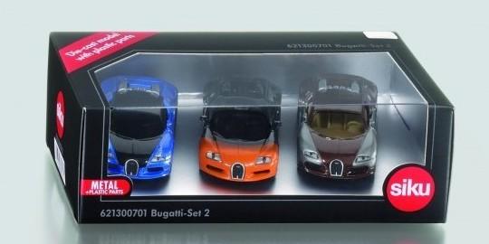 Siku Limited Edition Bugatti Set 2 (3-Piece)