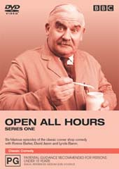 Open All Hours - Series 1 on DVD