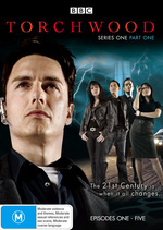 Torchwood - Series 1: Part 1 - Episodes 1-5 (2 Disc Set) on DVD