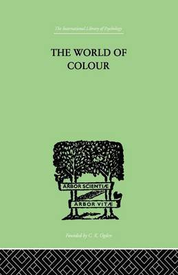 The World Of Colour by David Katz