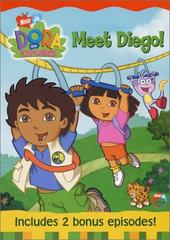 Dora The Explorer - Meet Diego on DVD