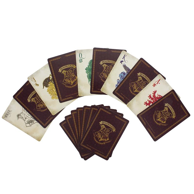 Hogwarts Playing Cards image