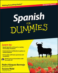 Spanish For Dummies by Pedro Vazquez Bermejo image