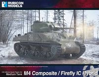 Rubicon 1/56 M4 Sherman Composite / Firefly IC Hybrid