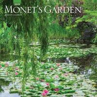Monet'S Garden 2019 Square Wall Calendar by Inc Browntrout Publishers image