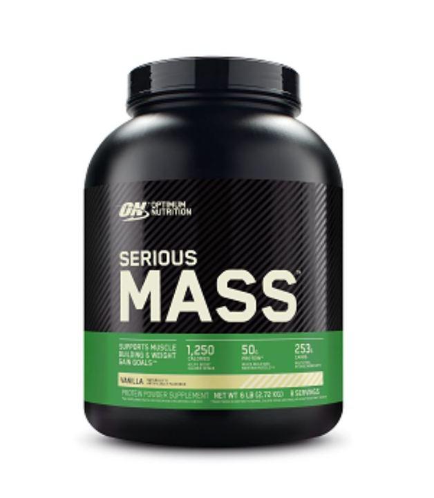 Optimum Nutrition Serious Mass - Vanilla (2.72kg)