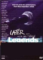 Jools Holland - Later Legends on DVD