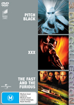 Pitch Black / xXx / Fast And The Furious - 3 DVD Collection (3 Disc Set) on DVD