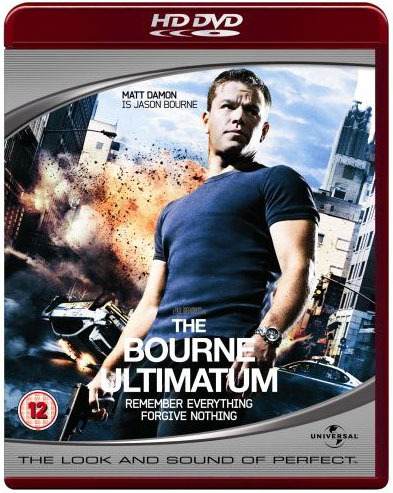 The Bourne Ultimatum on HD DVD