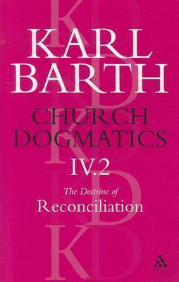 Church Dogmatics Classic Nip IV.2 by Barth