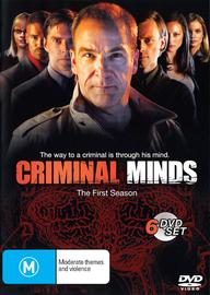Criminal Minds - Season 1 (6 Disc Box Set) on DVD