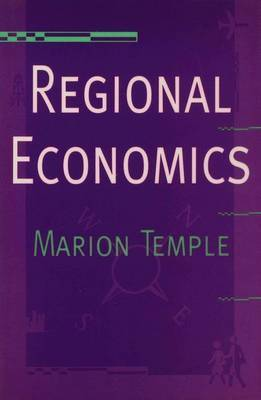 Regional Economics by Marion Temple