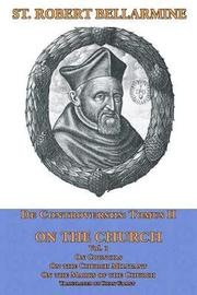 On the Church by St Robert Bellarmine Sj image