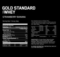Optimum Nutrition Gold Standard 100% Whey - Strawberry Banana (907g) image