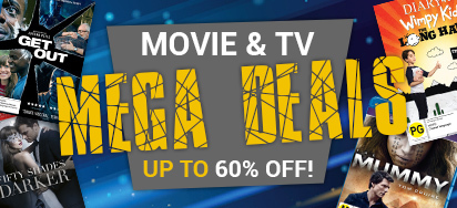 Up to 60% off! Movie & TV Mega Deals!