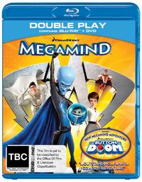 Megamind - Double-play: Blu-ray & DVD (2 Disc Set) on DVD, Blu-ray