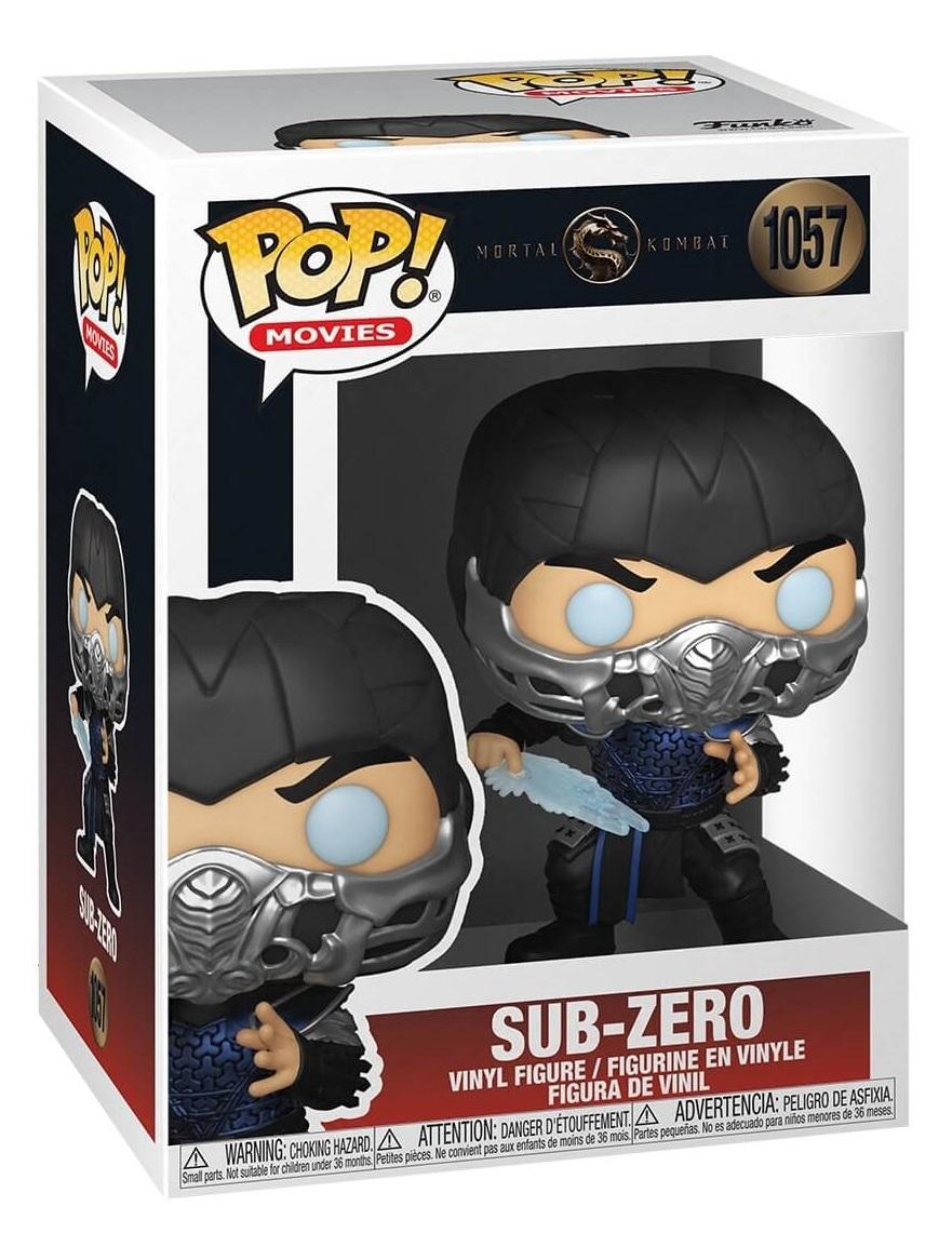 Sub-Zero (Metallic) - Pop! Vinyl Figure image