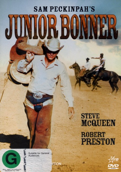 Junior Bonner on DVD image