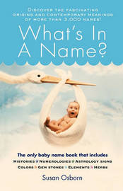 What's in a Name? by Susan Osborn image