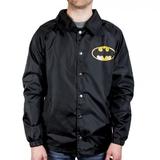 DC Comics - Batman Logo Coach Jacket (Large)