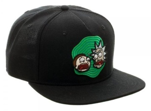 e6e130c6957 ... Rick and Morty - Snapback Cap image ...
