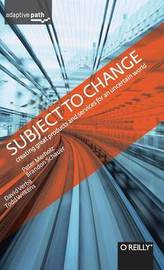 Subject to Change by Peter Merholz