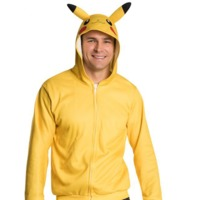 Pokemon - Pikachu Hooded Jersey (Medium)