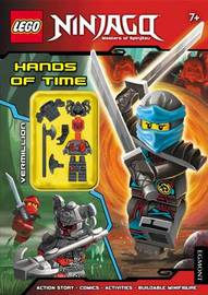 LEGO (R) Ninjago: Hands of Time (Activity Book with Minifigure) by Egmont Publishing UK