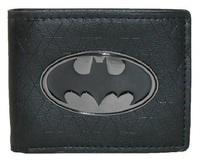 Batman: Metal Badge - Bi-fold Wallet (Black)