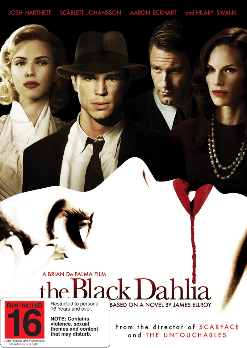 The Black Dahlia on DVD image
