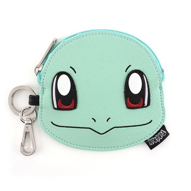Loungefly Pokemon Squirtle Face Coin Bag