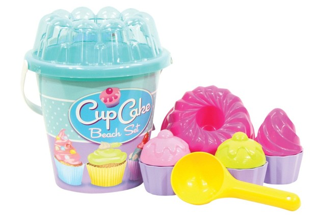 Androni: Summertime Cup Cake Beach Set - Blue