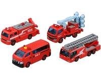 Tomica Gift Fire Fighting Vehicle Collection 2