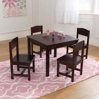 KidKraft: Farmhouse (Espresso) - Table & Chair Set