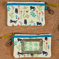 Natural Life: Id Pouch - I Love Cats