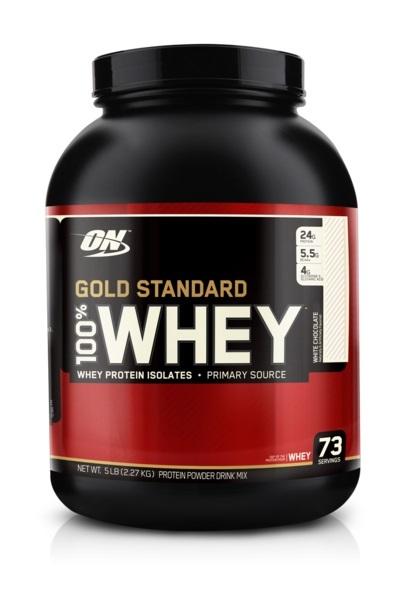 Optimum Nutrition Gold Standard 100% Whey - White Chocolate (2.27kg) image