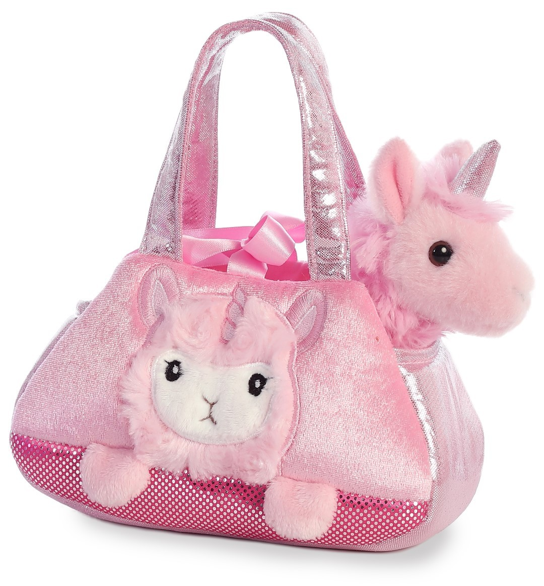Aurora: Fancy Pal Pet Carrier – Peek A Boo Llamacorn image