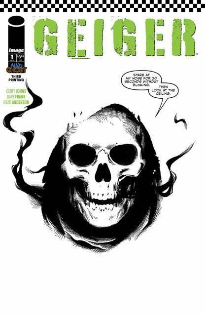 Geiger - #1 (3rd Printing /Frank) by Geoff Johns