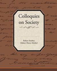 Colloquies on Society by Robert Southey image