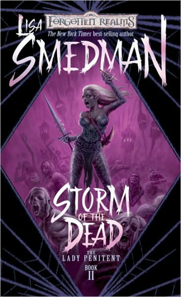 Forgotten Realms: Storm of the Dead (Lady Penitent #2) by Lisa Smedman image
